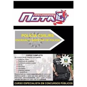 Concurso Polícia Civil Rs 2018- Apostila+curso Ead Promoção