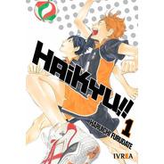 Haikyu!! 01 - Manga - Ivrea