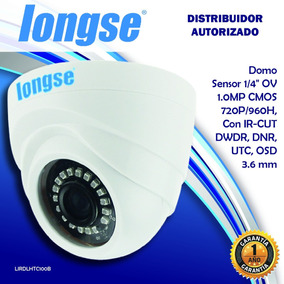 Longse Camara Ahd Domo Hibrida 720p 3.6mm Seguridad