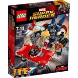 Lego® Super Heroes Iron Man:golpes De Detriot Steel (76077)