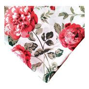 Mantel Rouge Blanc 2,50 X 1,45