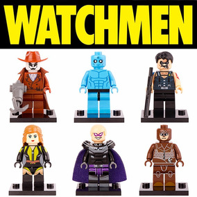 Miniaturas Watchmen Rorschach Dr Manhattan 6 Bonecos