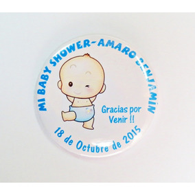 Pin Prendedor, Baby Shower De 55 Mm.