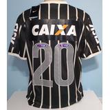 Camisa Corinthians Paulista E Recopa Danilo 2013 Patch Fifa