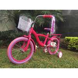 Bicicleta Para Niña R16 Romina