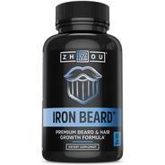 Barba Perfecta Con Iron Beard Maximiza Volumen 60 Capsulas