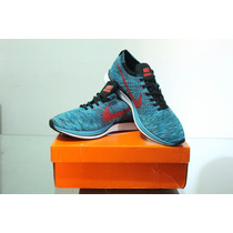 Zapatillas Nike Flyknit Racer Shoes Neo Turquoise Bright