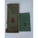 Antiguos Manuales Instrucciones -maquinas De Coser Singer