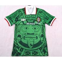 Jersey Seleccion Mexico Retro Mundial 1998 Envio Gratis