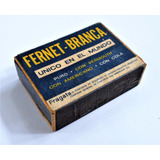 Antigua Caja Fosforos Fragata Con Publicidad Fernet Branca