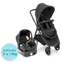 Carrinho De Bebê Travel System Maxi Cosi Discovery Ts - Blac