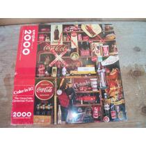 Tm.coca-cola Rompecabesas 2000 Pzs.centenial