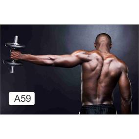 Adesivos 123 Painel Poster Academia Fitness Grande
