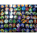 100 Tazos Chetos Dragon Ball Colección Completa Con Micas!