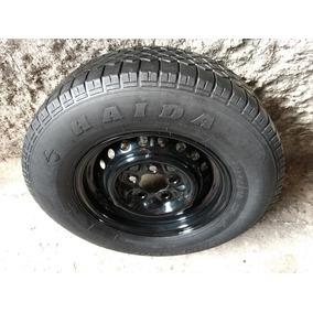 Estepe Roda Com Pneu Volkswagen Perua Kombi Aro 14 5 Furos.