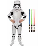 Disfraz Storm Trooper Ep7 Star Wars Original Con Espada