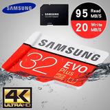 Memoria Micro Sd Samsung Evo Plus 32gb 95mb/s
