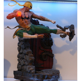 Punho De Ferro Iron Fist Marvel Xm Studios 1/4 Única Brasil