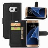 Capa Carteira Couro Samsung Galaxy S7 Edge G935 + Película