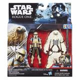 Star Wars Rogue One Scarif Stormtrooper & Moroff 3.75