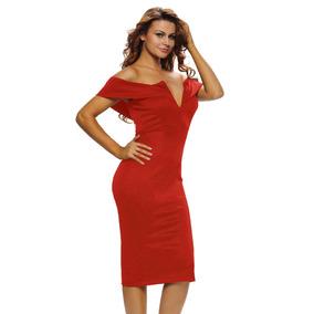 Vestido Bonito Rojo Promocion V418 597e308ae6c