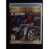 Gran Turismo 5 Ps3 Xl Edition