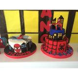 Tortas Artesanales-modelo Hombre Araña Spiderman