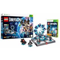Lego Dimensions - Starter Pack - Xbox X360 - Novo - Lacrado