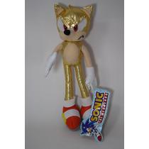 Muñeco Sonic The Hedgehog Gold 9