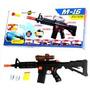 M-16 Fusil Arma Lanza Dardos Y Bolitas - Fair Play Toys