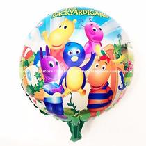 Balão Metalizado Backyardigans 45cm