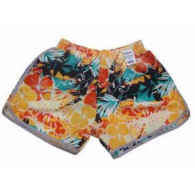 Kit Com 20 Shorts Infantil Estampado Feminino - Frete Grátis