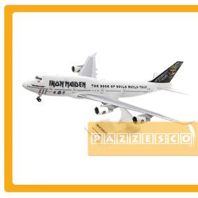 Avión Boeing 747 400 Iron Maiden 1:200 Premier Ed Force One