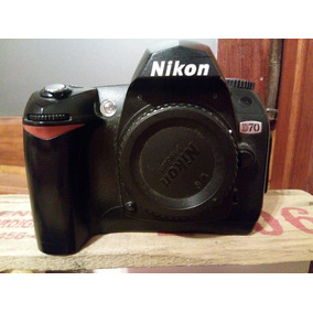 Nikon D70 Body Usado, Buen Estado