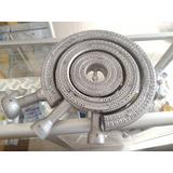 Juego Quemador Estufa Industrial Q70+q50+q30 Aluminio