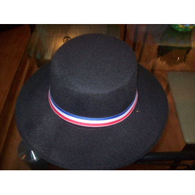 Sombrero De Huaso Negro.
