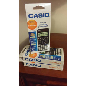 Calculadora Casio Classwiz Cientifica Fx 991 Lax En Caja