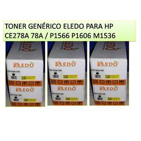 Toner Eledo Compatible Hp Ce278a (78a) Totalmente Sellado