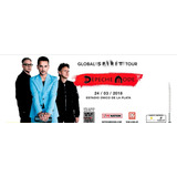 Entrada Depeche Mode - Campo - 24/3/2018