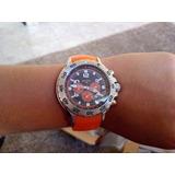 Reloj Nautica N14538g Cronómetro 100m Salmon