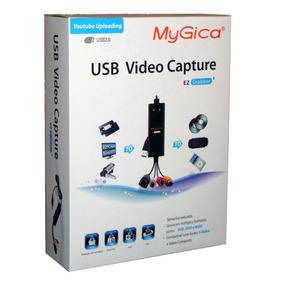Placa De Captura Usb 2.0 Audio E Video Mygica Visus Tv