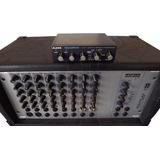 Mesa Amplificador Staner Mpx220 Polyplay C/ Nanoverb Alesis