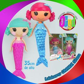 Muñecas Lalaloopsy Sirena Originales Grande
