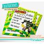 Increíble Hulk - Invitación Para Imprimir