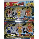 Muñecos Dbz Mashers X 3