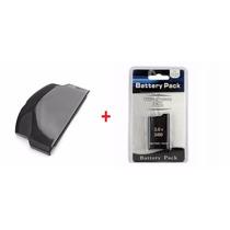 Tampa Da Bateria + Bateria Psp Sony Slim Série 3000