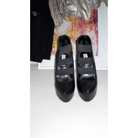 Zapatillas Negra Plataforma Steve Madden 23.5 Cms