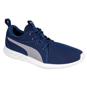 Tenis Puma Hombre Running Azul - Zapatos en Mercado Libre México 77156d3535370