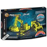 Mis Ladrillos R-310 Probots Maquinas Viales 310 Pz+kit Motor