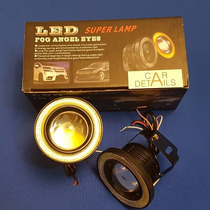 Faros Led Niebla C/ojo De Angel 89mm